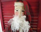 Sale Primitive Santa Claus Handmade 22inches SOCOFG  ofg team teametsyfolk wrr