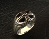 Oortsilver Lined Ring