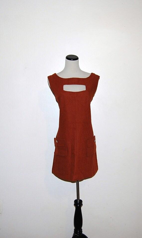 Vintage Dress Mini 60s Mod