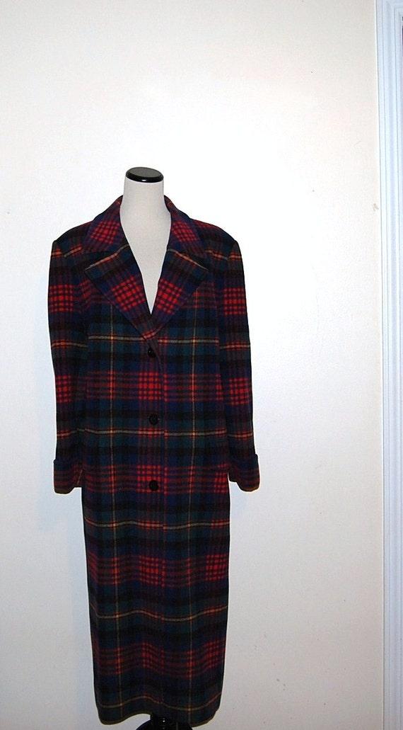 Vintage Coat Wool Pendleton