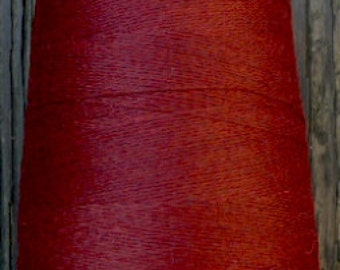 cashmere wool blend yarn 24 S/2 lace weight, wine