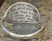 Personalized Spoon Cuff Bangle Bracelet