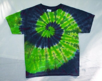 Childrens-Spiral Tie Dye Size Youth Large