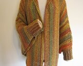 PDF Crochet Pattern- Quick and Easy Cuffed Cape