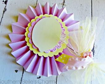 Lemonade Centerpiece Pinwheel...Set of 1 Pinwheel
