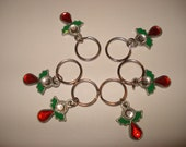 Stitch Markers - 6 Angels