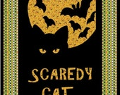 Scaredy Cat Quilt PDF Pattern by MadCreekDesigns