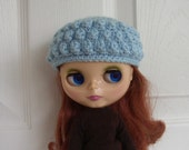 Ice Blue Blythe Hat/Cloche......Free Shipping