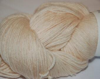 Studio June Yarn Super Cash Sock - Cashmere, Superwash Merino, Nylon - Color: French Vanilla