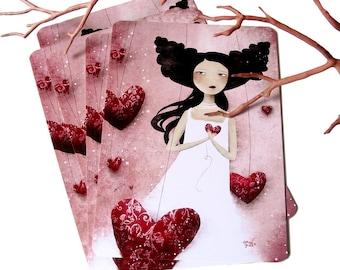 Some Hearts Wander - Postcard