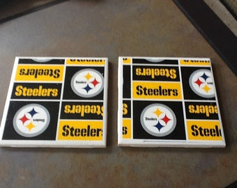 Steeler Coasters - Set of Four