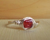 Wire Wrapped Ring Size 8