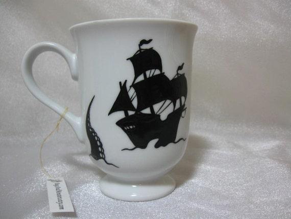 Kraken vs. Tall Ship mug