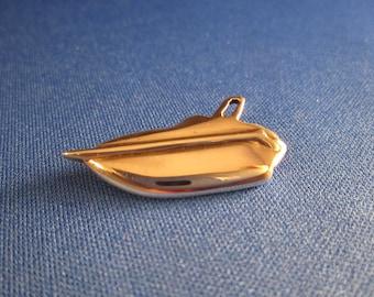 Power Boat Crusier silver