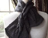 Mini Twist Scarf Knitting Pattern