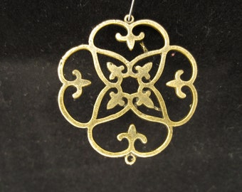 Antique Bronze or Silver Chandelier Link, quantity 8