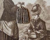 Adorable Bird Cage Charms