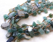 Roman Glass Necklace - BACK IN STOCK - 3 Styles, Green Glass, Aqua Glass, Extra Long Necklace