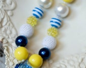 Girls Chunky Bead necklace