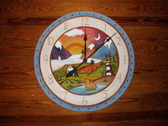 Unique Wall Clock Clock 20 Round Wall Clock