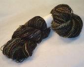 Handspun Yarn - appx. 800 yrds 2ply - Vortex  - OOAK - Alpaca