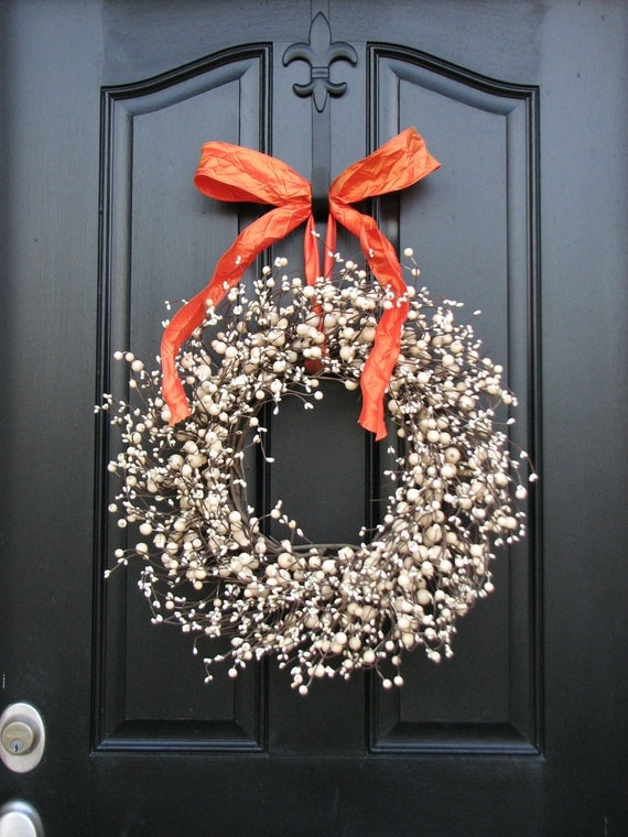 Items similar to berry wreaths autumn wreaths for 3 wreath door decoration