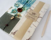 Linen / fabric Journal. Free postage Australia