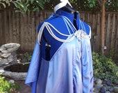 Padme Amidala/Skywalker Steel Blue Nightgown Custom Costume Star Wars