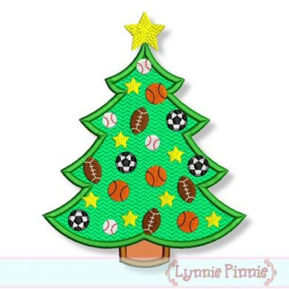 All star sports christmas tree  machine