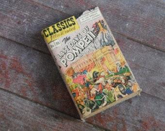Miniature Book --- Last Days of Pompeii