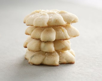 Lemon Thyme Butter Cookies - 6 dozen homemade cookies