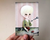 The Reverse Engineer ACEO ATC Artist Trading Card Sized Premium Giclee Fine Art Print