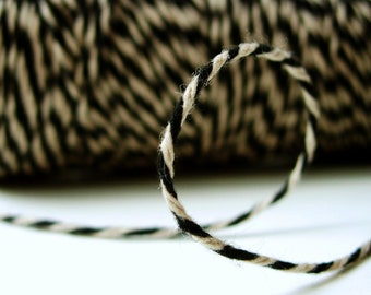 SALE - Black Kraft Bakers Twine by Timeless Twine - 1 Spool (160 Yards)