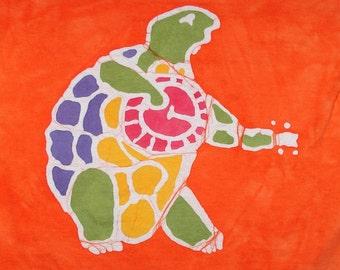 The Grateful Dead Terrapin Turtle Custom Kids Batik Tee Shirt Terrapin Station Inspired CUSTOM