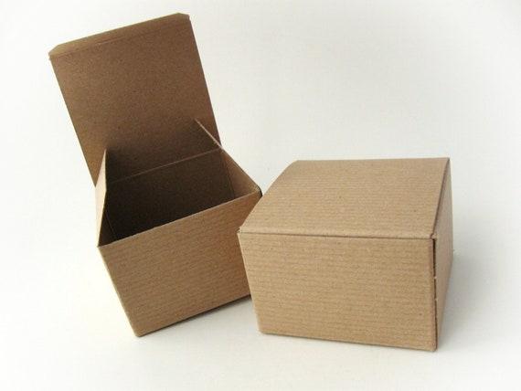 12 boites cadeau carton kraft recycl par annymaycraftsupplies. Black Bedroom Furniture Sets. Home Design Ideas