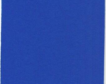 Pure Wool Felt Sheet - Royal-Blue - Various Sizes