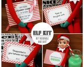 Printable Elf Kit (Notes & Tricks)