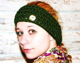 CROCHET PATTERN - The Versatility Ear Warmer  (Matches The Versatility Boot Cuffs)-Makes up super quick for fast and easy gifting