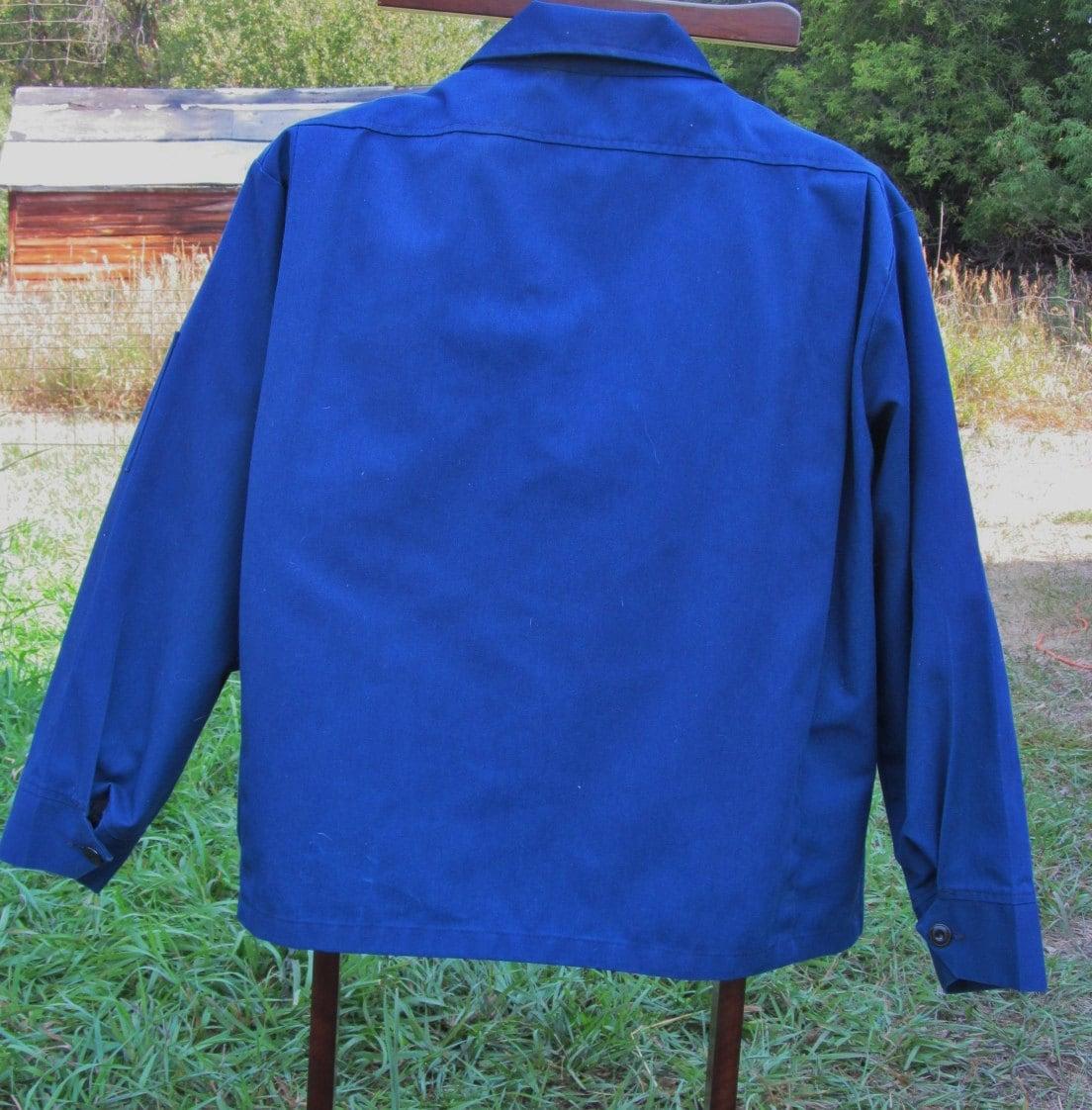 Vintage Union 76 Gas Station Attendant Uniform Jacket Large L