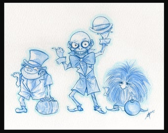 Going My Way - (print) Gallery 999 Haunted Mansion Tribute