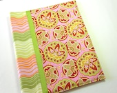 ON SALE  Binder Cover in Amy Butler Fabric