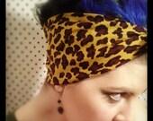 leopard print pre-hemmed