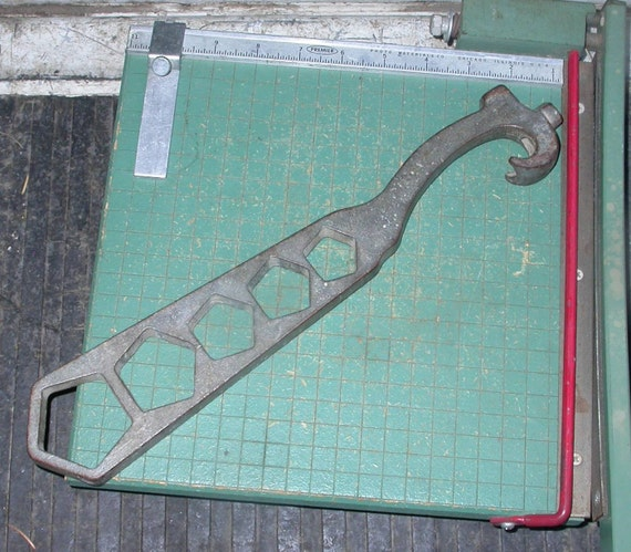 vintage fire hydrant wrench