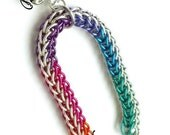 Heart Locket on Chainmaille Bracelet - ready to ship
