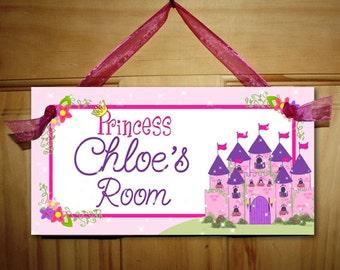 Born to be a Princess Girls Bedroom Baby Nursery Bedroom DOOR SIGN Wall Art Decor DS0024