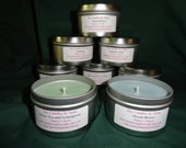 Soy Candles by Nana - 8-ounce tin candle