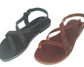 ANANIAS Greek Sandals Roman Grecian handmade leather sandals - NEW STYLE