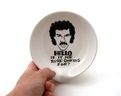 Hello Lionel Richie  Is It Me You're Cooking For Spoon Rest spoonrest