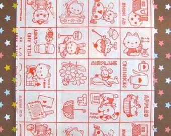 Cartoon Paper Bags