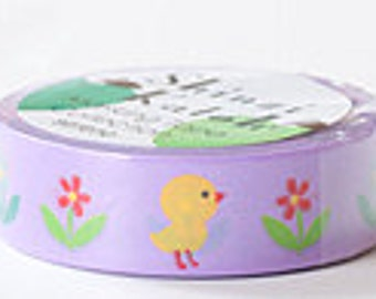 Shinzi Katoh Masking Tape - Flowers & Butterflies